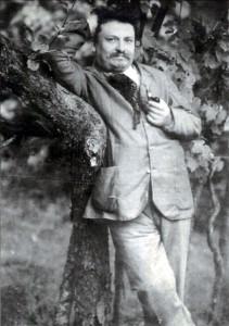 Giovanni Pascoli ritratto a Castelvecchio (LU)